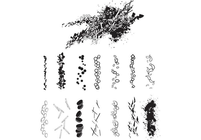 14 Free Scatter Brushes