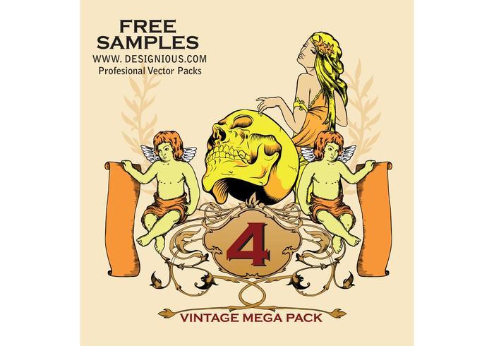Vintage Mega Pack 4 kostenlose Proben