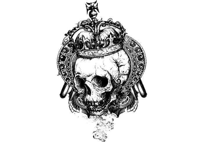 Crâne Wicked gratuit