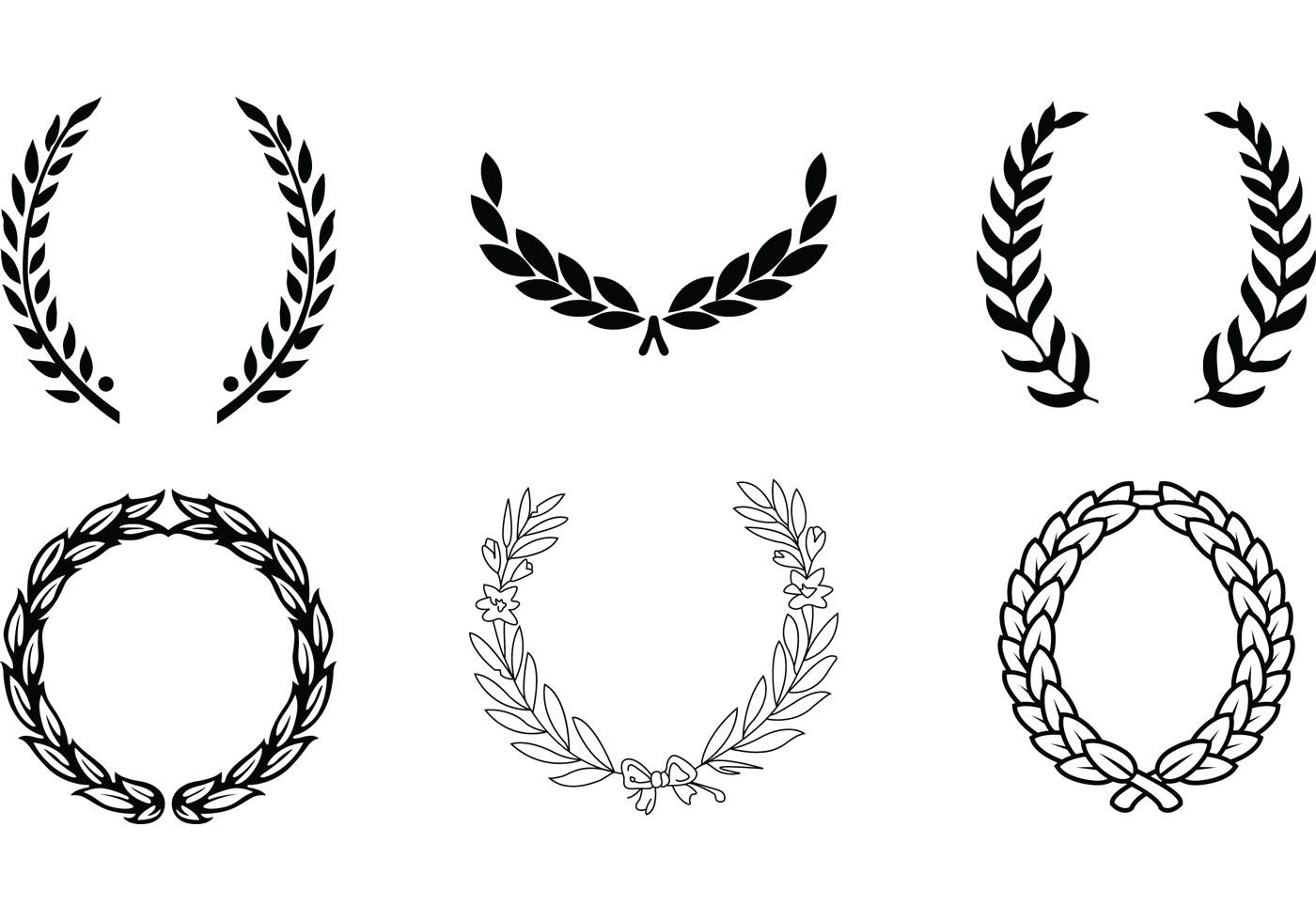 Vector Wreaths Download Free Vector Art Stock Graphics