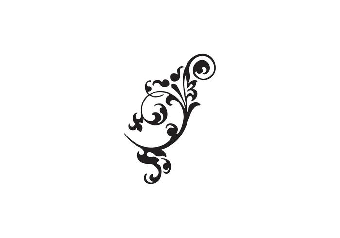 Vector Flourish Free Ornament
