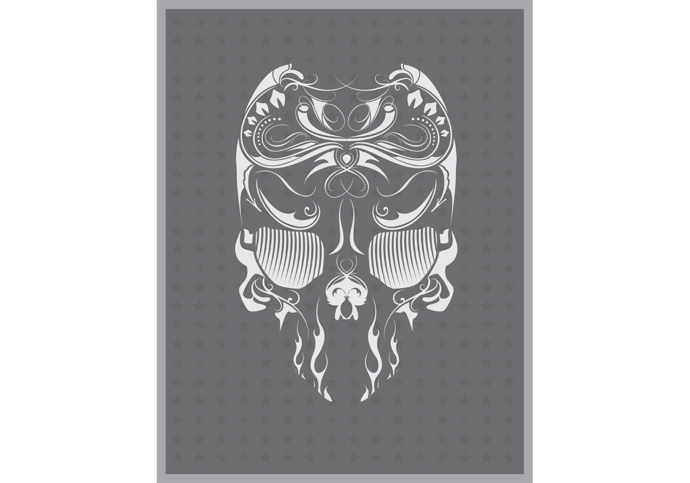 Free Vector Skull Flourish Mexican Touch - Download Free ... Hand Bones Tattoo
