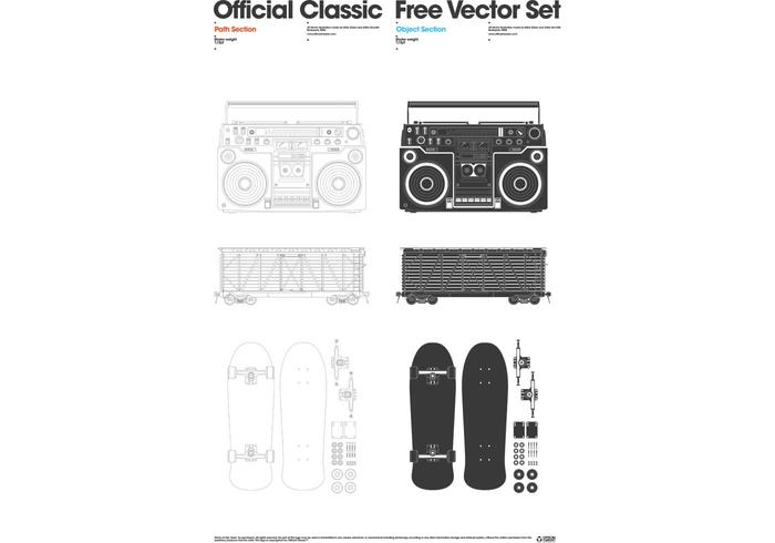 Official Classic Free Vector Set 1.