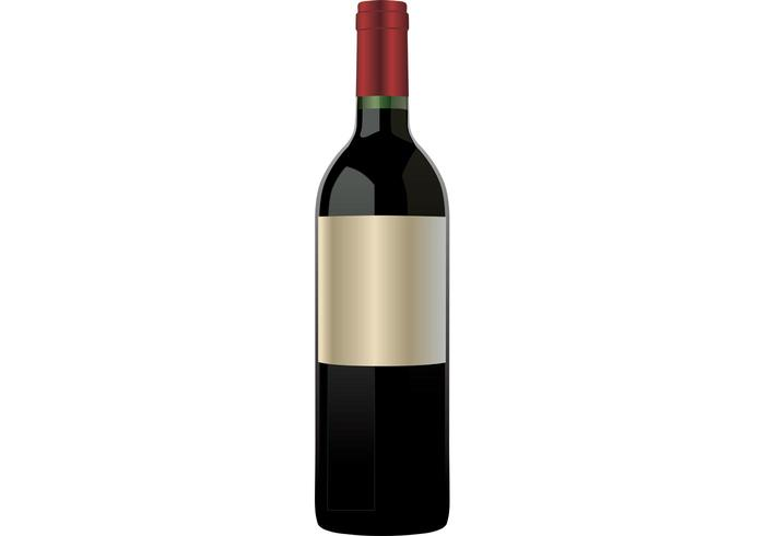 Red wine bottle - Download Free Vector Art, Stock Graphics ...
