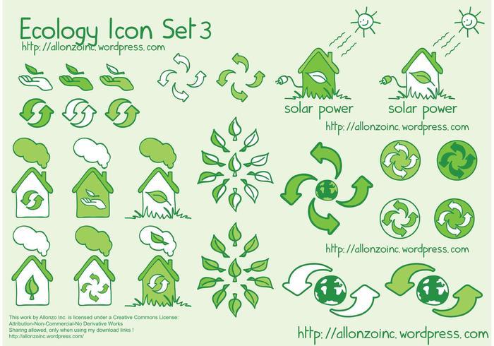 Ökologie Icon Set 3