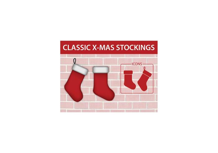 Classic Christmas Stocking Icon