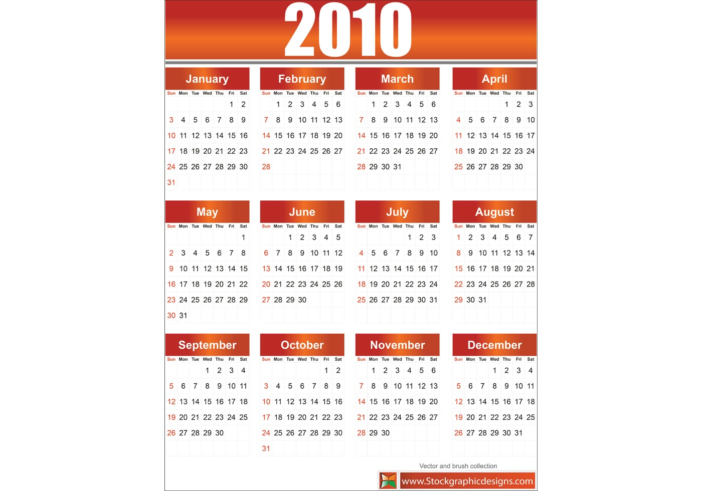 Calendar Graphics Free : Free vector calendar download art
