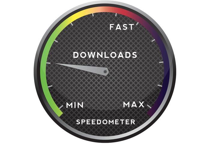 Free Vector Speedometer