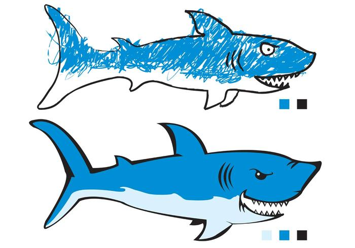 2 sharks