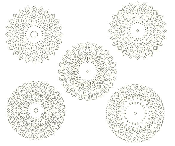 Circular arabesques v1