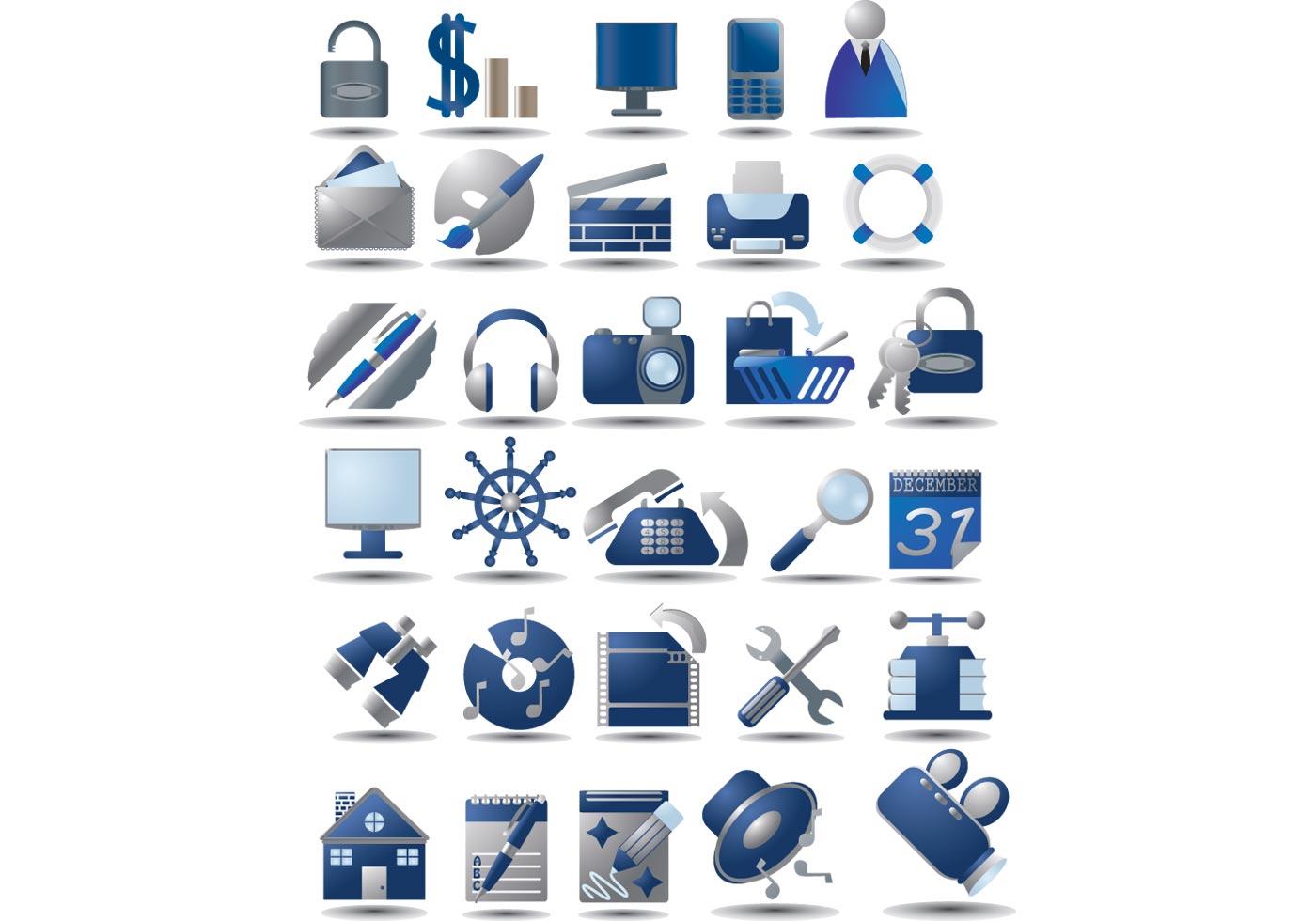 Скачать Eco Technology Flat Icons: Download Free Vector Art, Stock