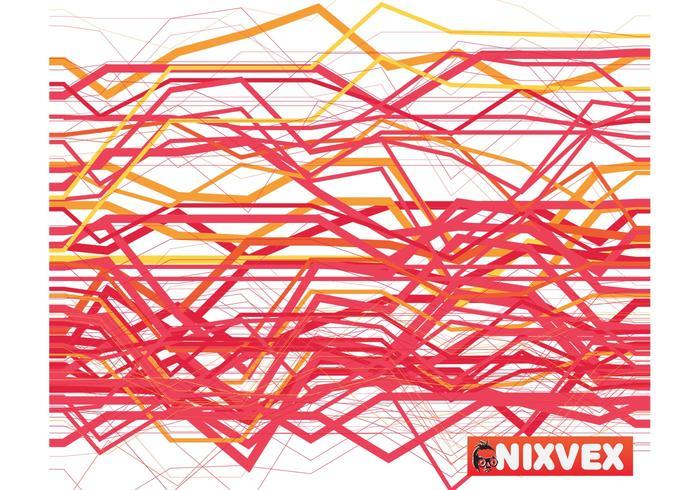 Padrão irregular de nixvex