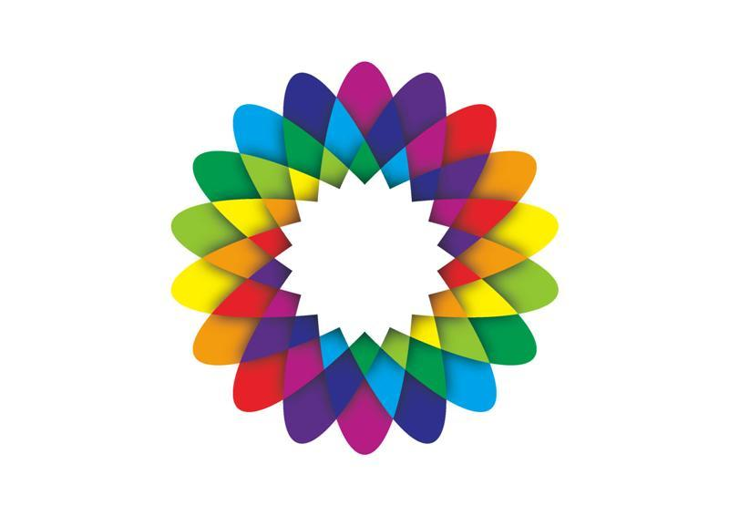 Geometric Flower - Download Free Vector Art, Stock