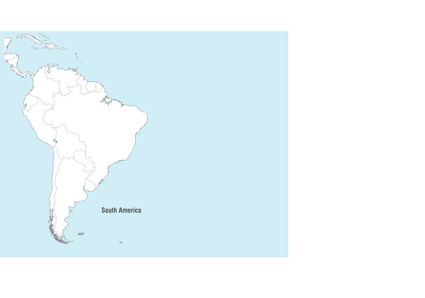 South America Map Vect...