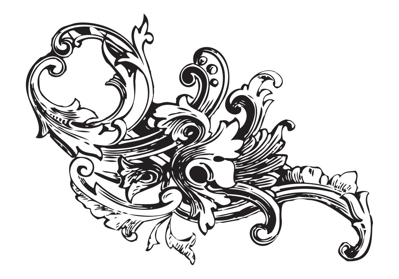 Ornament Vector Baroque Pack