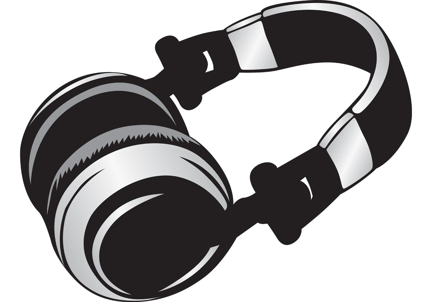 Headphone - Download Free Vector Art, Stock Graphics & Images