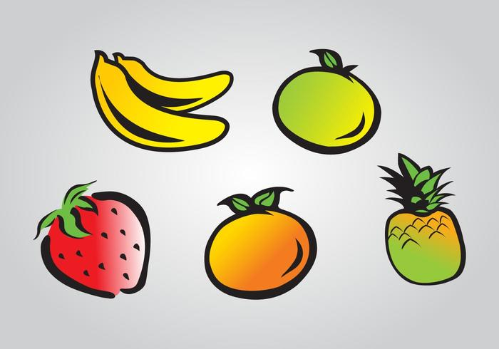 Fruits Cartoonish