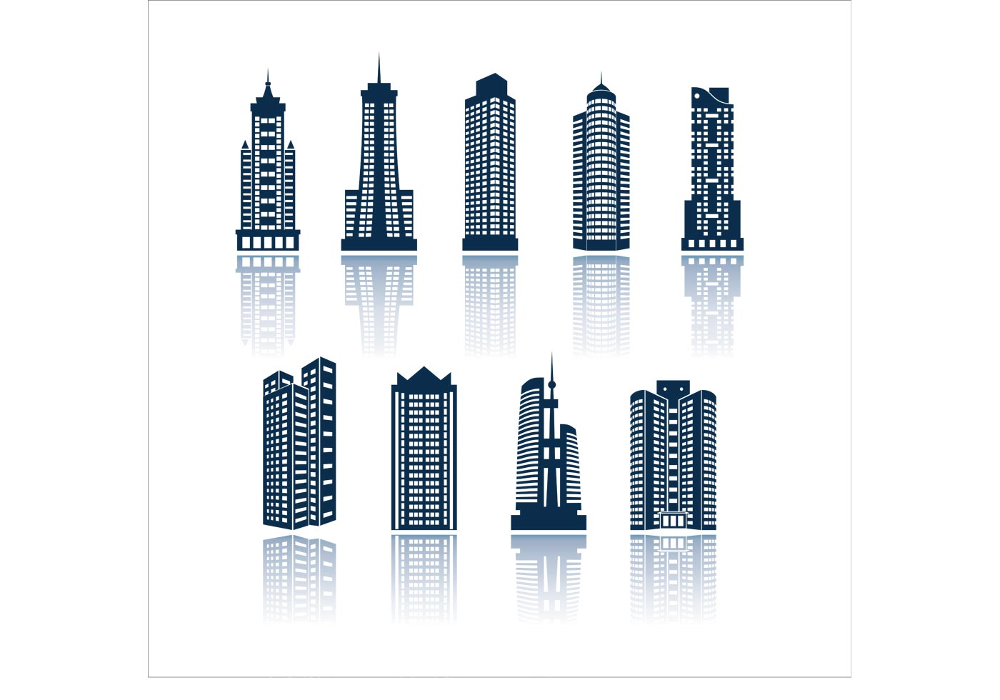 Building Shapes - Download Free Vector Art, Stock Graphics ...