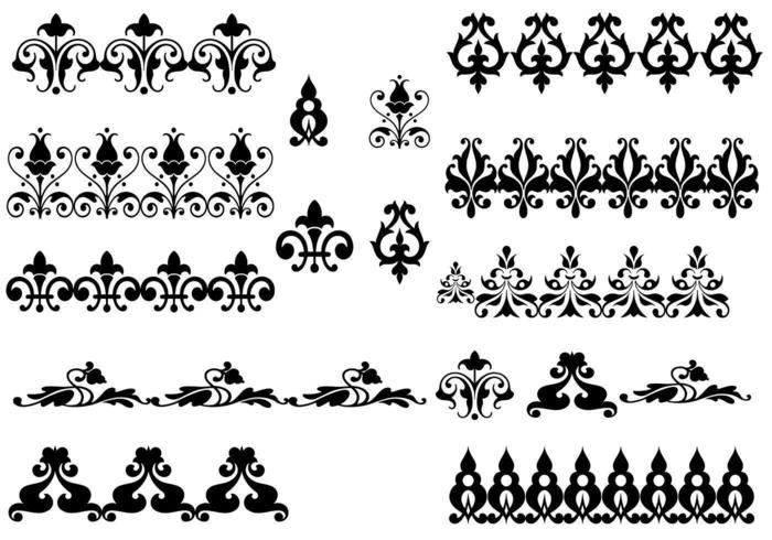 Ornament Vector Pack