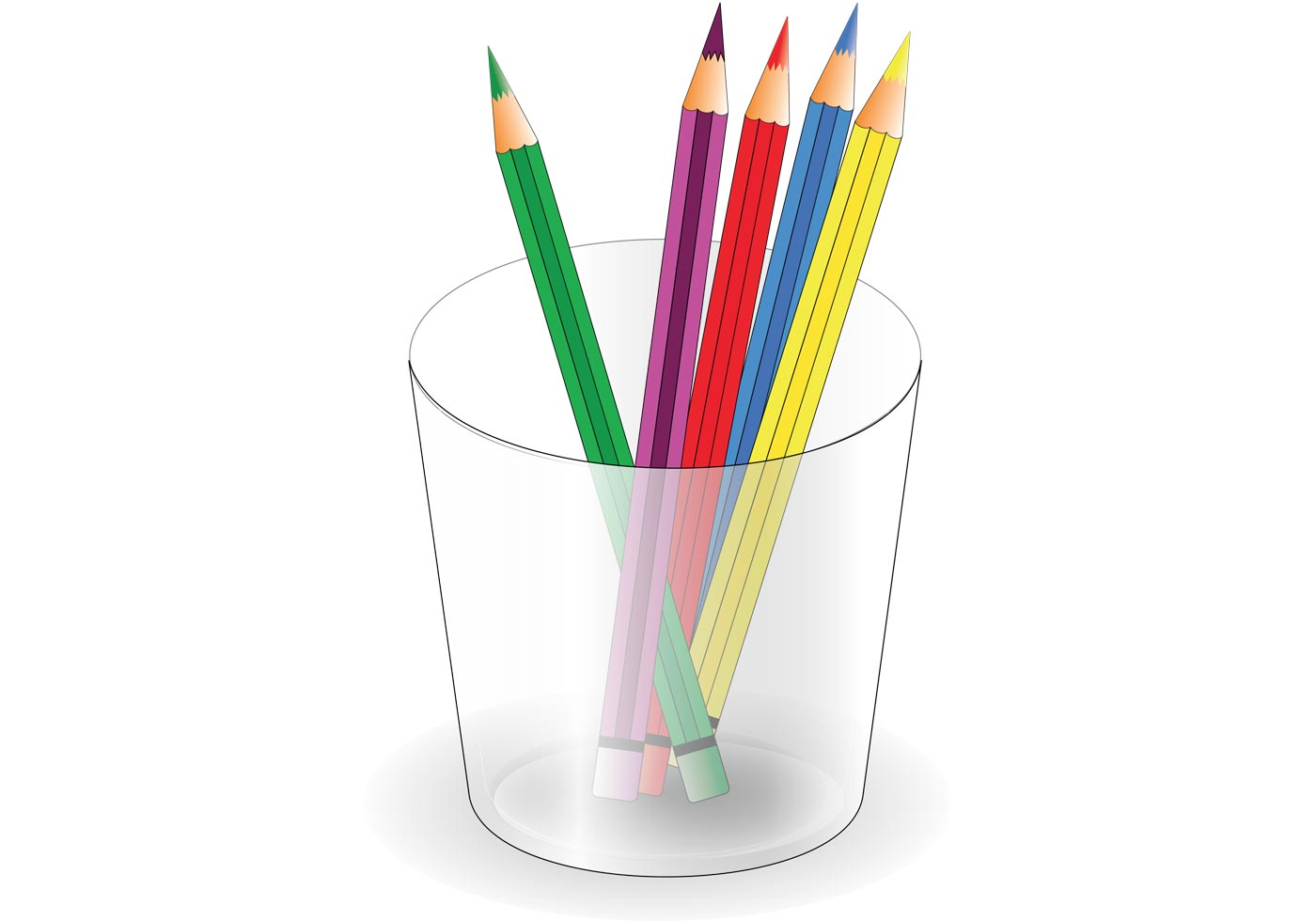colored pencils - Download Free Vector Art, Stock Graphics ...