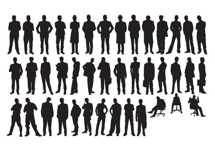 vector freebie man silhouette download free vector art stock rh vecteezy com male head silhouette vector man silhouette vector