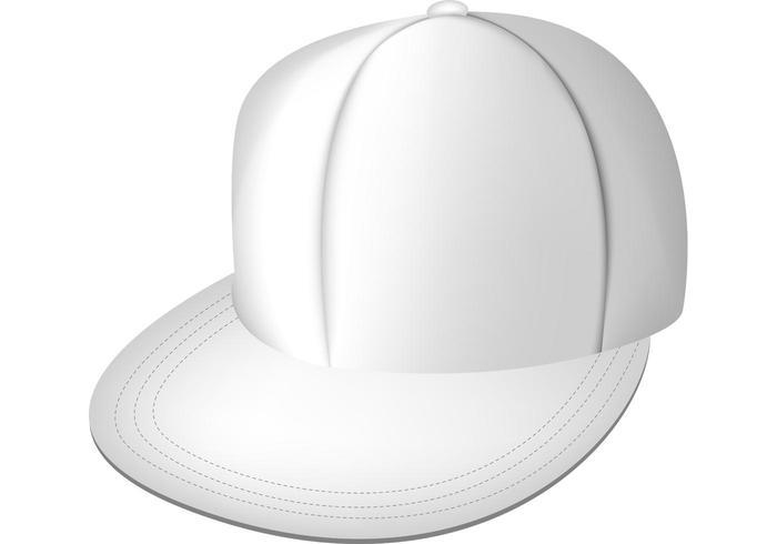 Weiße volle Kappe
