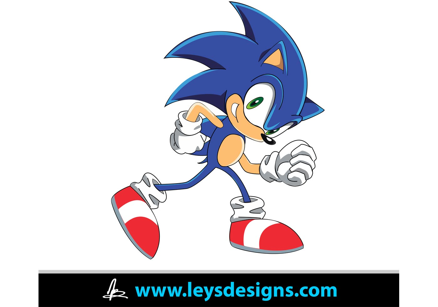 Free Vector Wedding Clipart Sonic the Hedgeh...