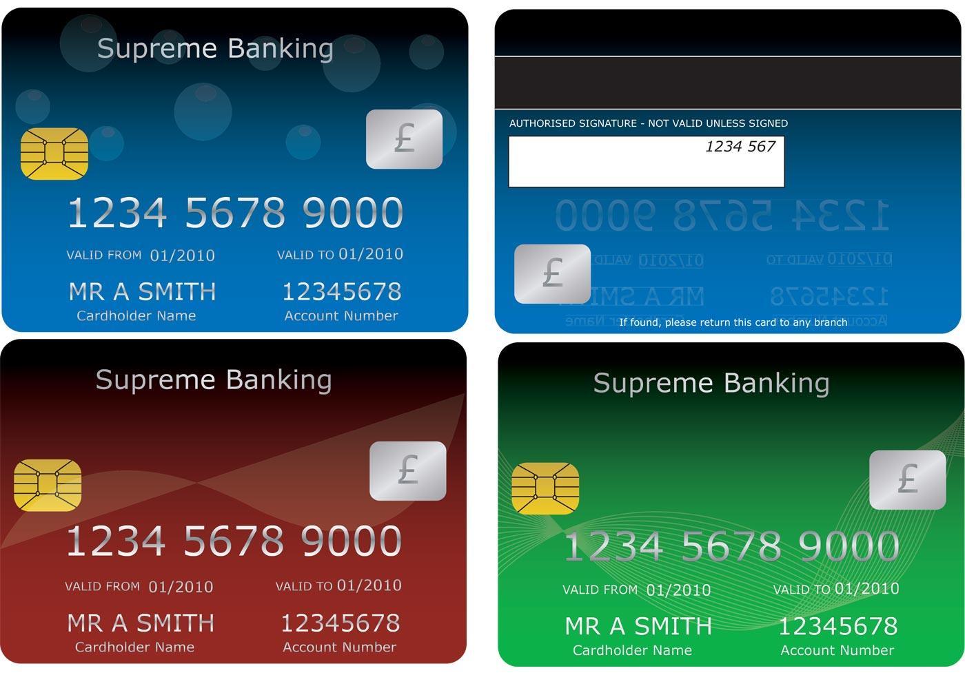 Как сделать свою банковскую карточку