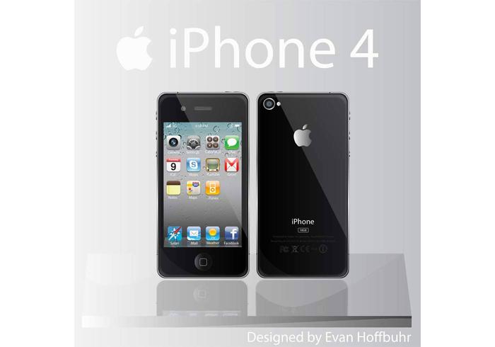 Free iPhone 4 Vector