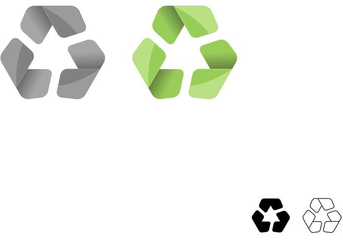 Symbol Vector for Recycle Symbol