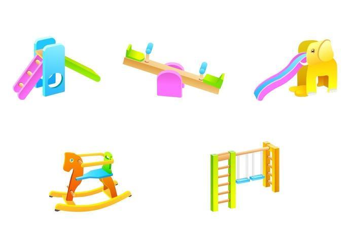 Pack de vecteur de jouet en plein air