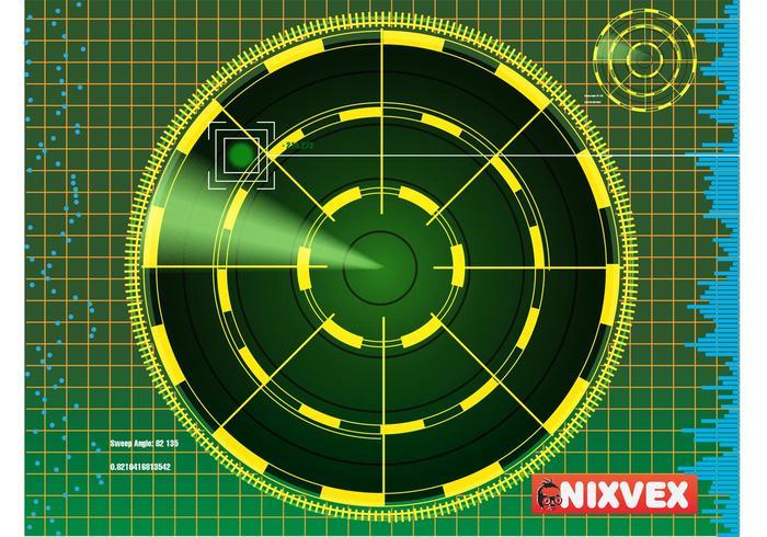 "NixVex ""Radar Screen"" free Vector"