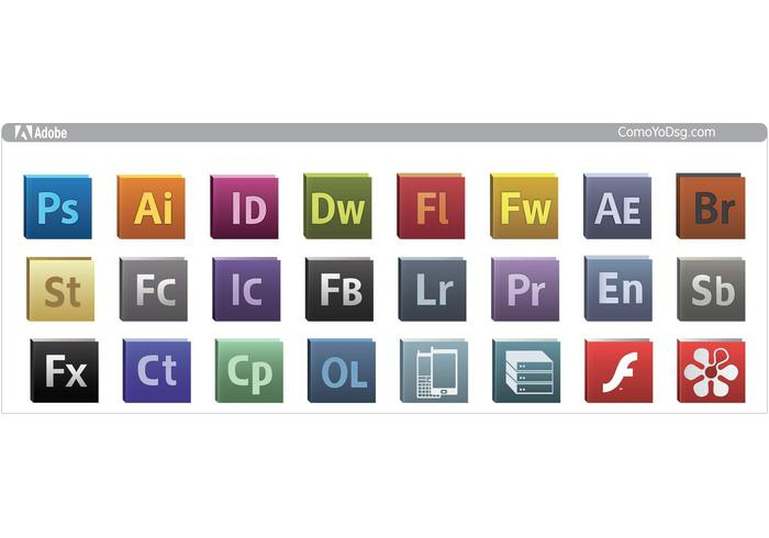 Adobe Cs5 Logo Icons Download Free Vector Art Stock