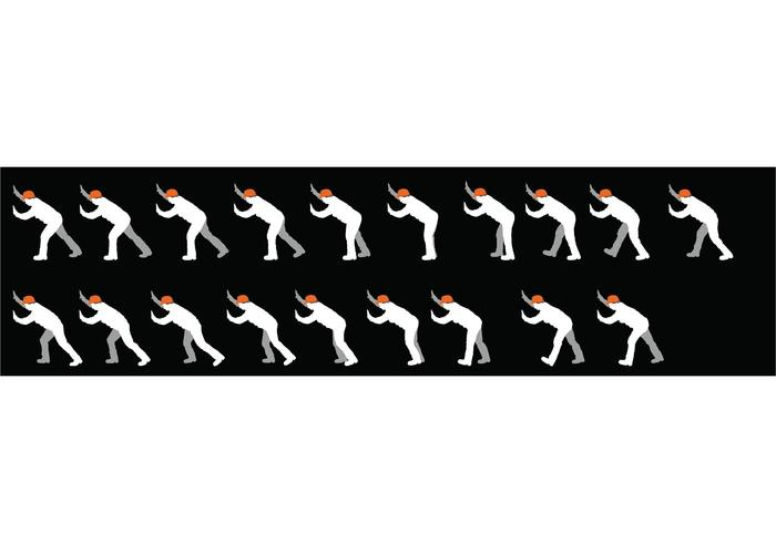 sequence - person walking