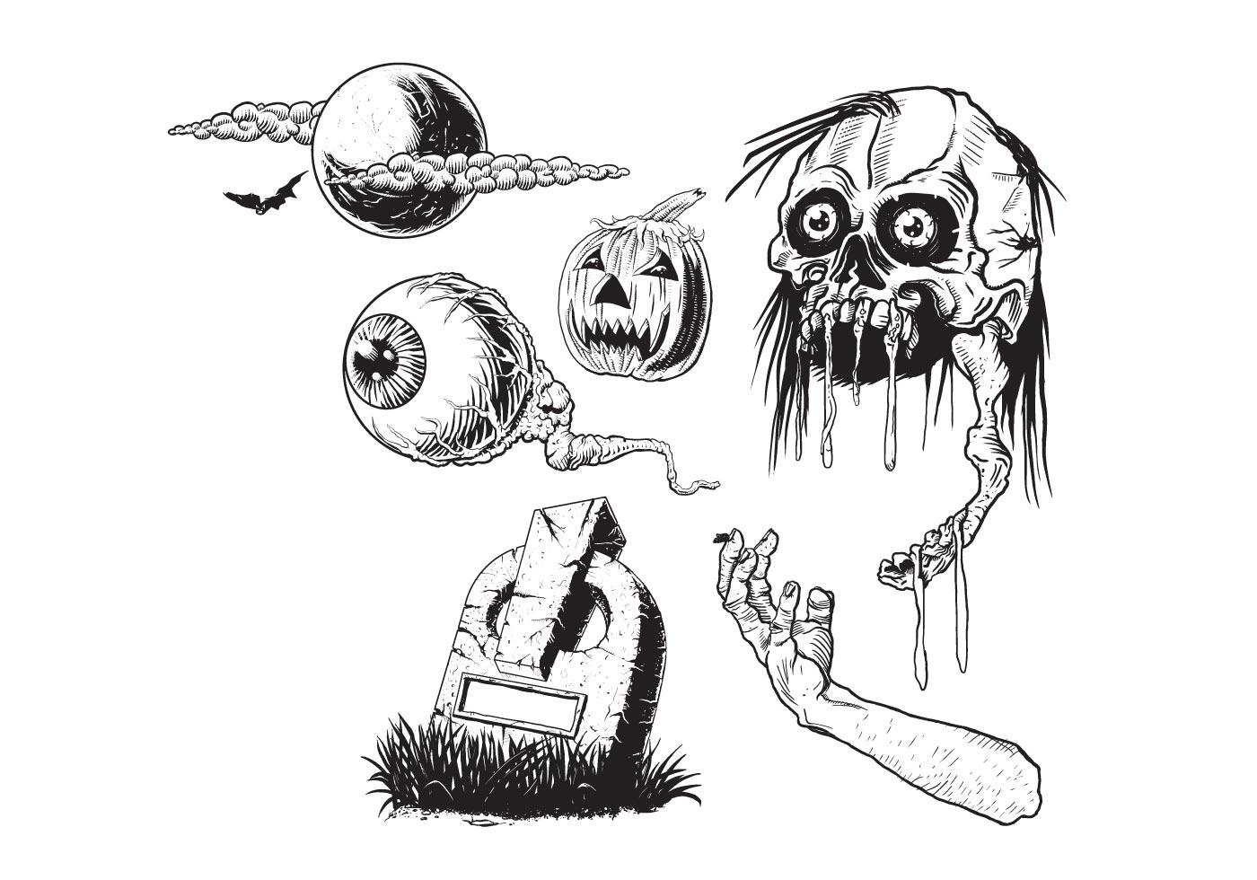 Free Halloween Vectors - Download Free Vector Art, Stock ...