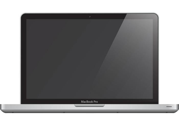 macbook pro vecteur