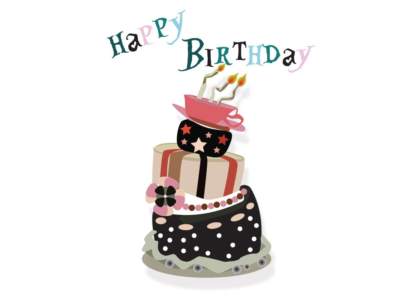 Crazy birthday cake - ...