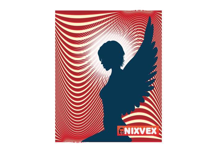 """NixVex """"Angel"""" Free Vector"""