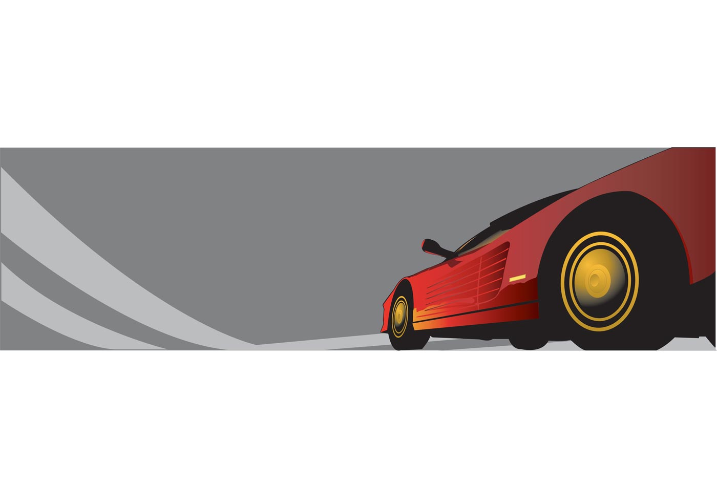 Classic Cars Silhouette