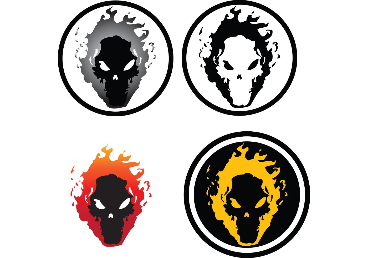 Flaming Skull Download Free Vector Art Stock Graphics