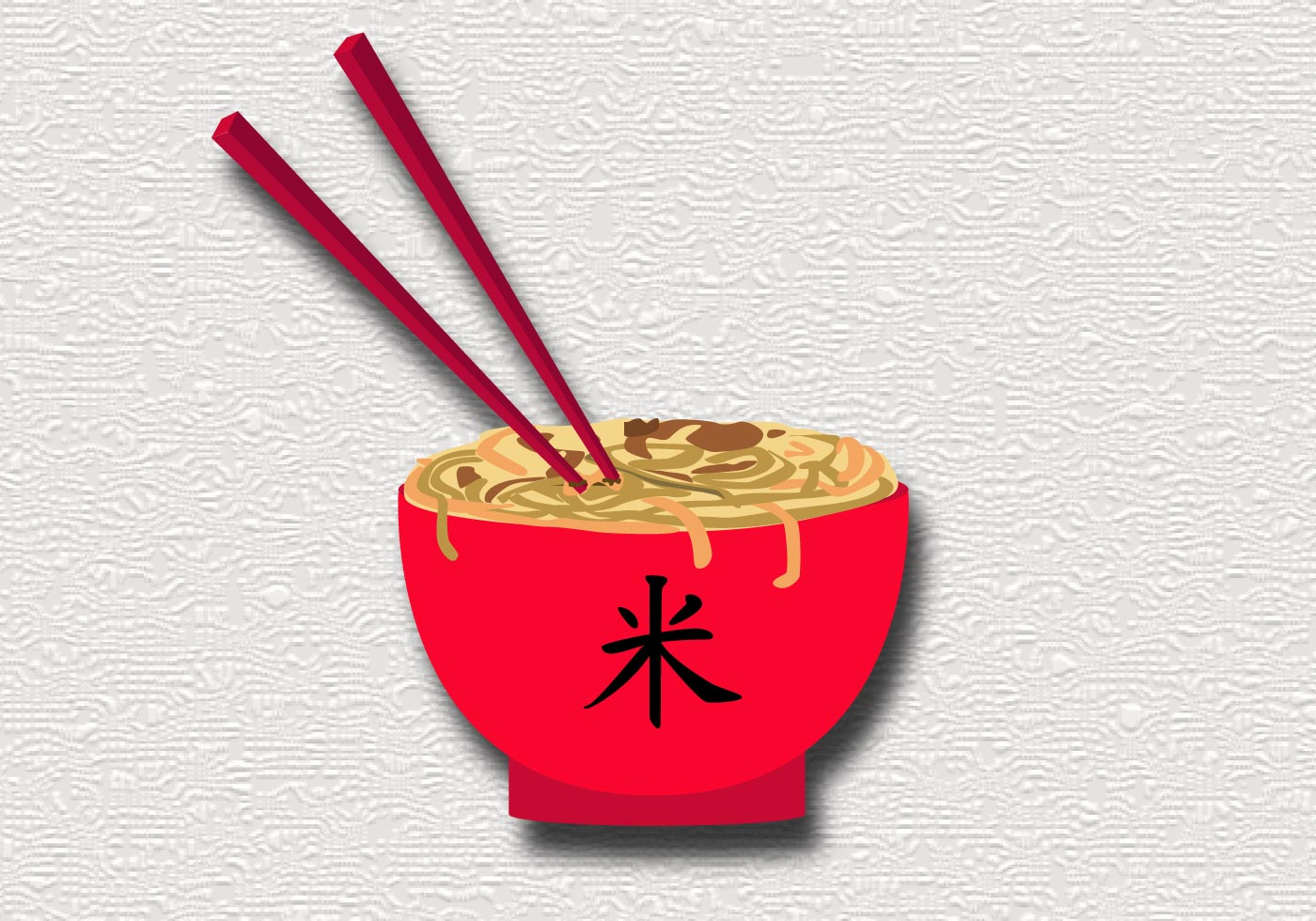 Chinese Food Vector Art