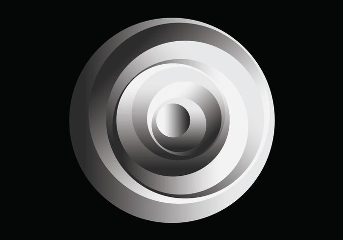 Nixvex OpArt Circles Free Vector