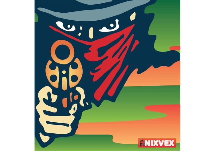 "NixVex ""Stick 'em up"" Free Vector"