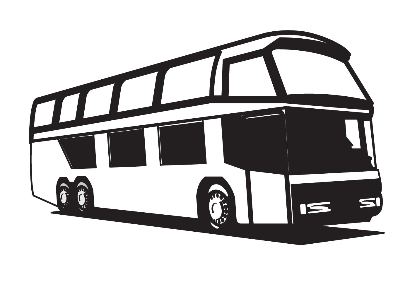 Image Result For Coloring Page Bus