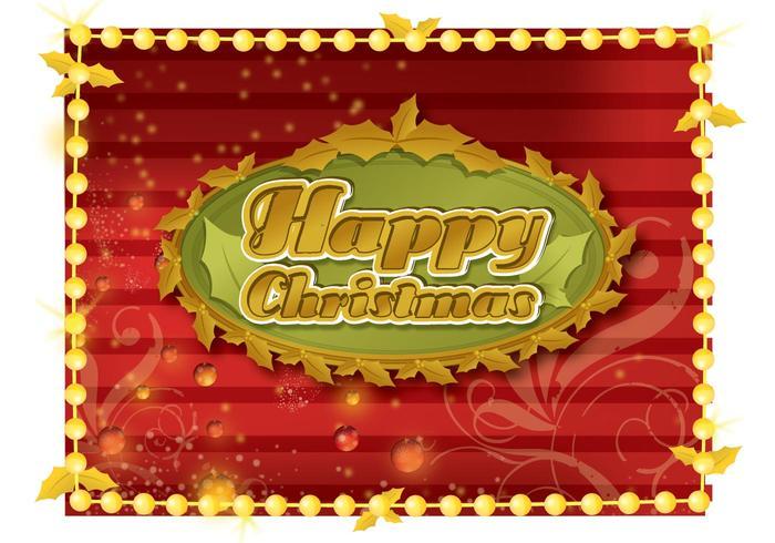 Happy Christmas Frame