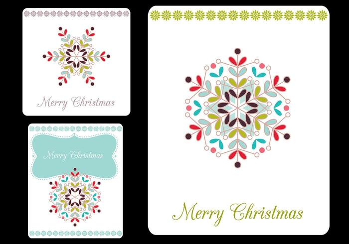 Merry Christmas Tags Vector Pack