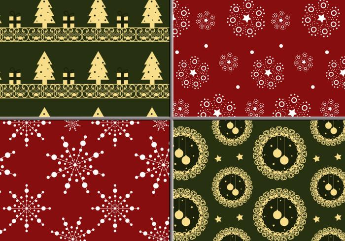 Holiday Wreath and Tree Illustrator Pattern Pack