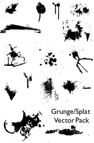 Grunge/Splat Vector Pack
