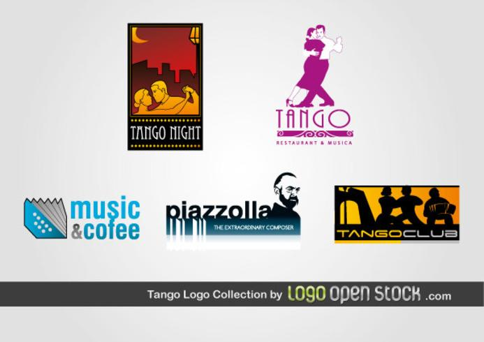 Colección logo tango