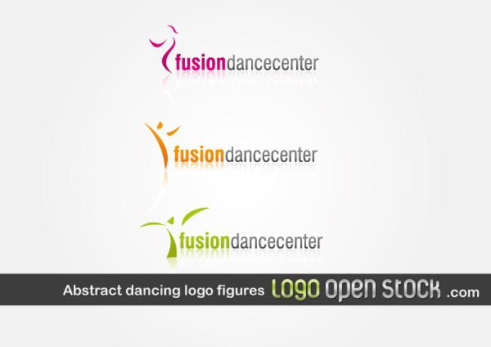 Abstract Dancing Logo